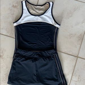 Tail tennis skirt matching set athletic outfit